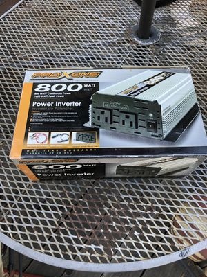 800 watt power inverter for Sale in Castro Valley, CA
