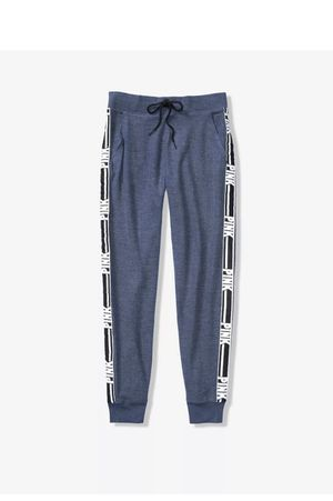New Victoria's Secret Pink Cozy Classic Joggers Blue XS or Small pants Sweatpants for Sale in Duncanville, TX