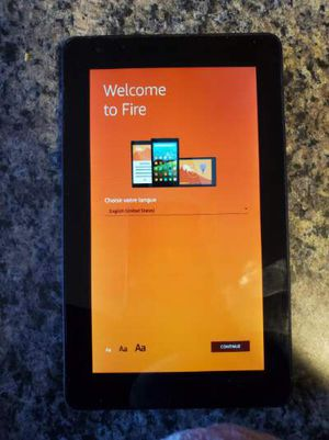 Amazon fire tablet and case for Sale in Piscataway, NJ