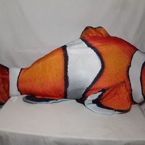 "Large Clown Fish 44"" Plush Treehouse Kids Giant Stuffed Animal Toy for Sale in College Park, GA"