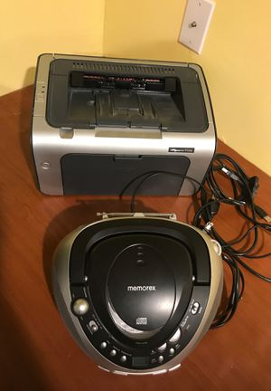 Printer and CD player for Sale in Horsham, PA