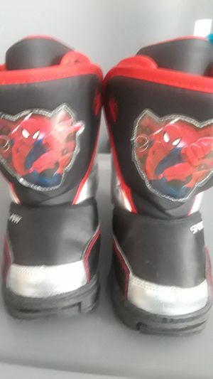 Spiderman Toddler Boots for Sale in Grosse Pointe, MI
