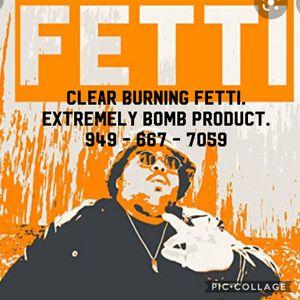 Clear Burn Fetti for Sale in Irvine, CA