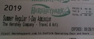 Hershey Park Tickets for Sale in Barnegat, NJ