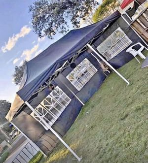 10x20ft Big Pop Up Canopy Tent • Parties• Camping • Car Shade• Business • and more for Sale in Montclair, CA