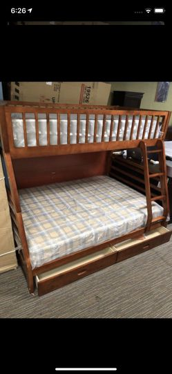 Twin Over Full Bunk Bed for Sale in Nashville,  TN