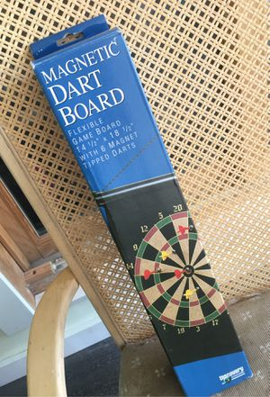 Magnetic dart board for Sale in Crawford, CO