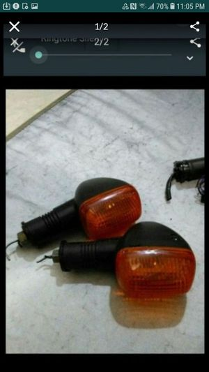 Motorcycle signal 1 set for $10 for Sale in Glendale, AZ