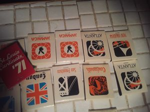Collection of old vintage matchbooks for Sale in BRECKNRDG HLS, MO