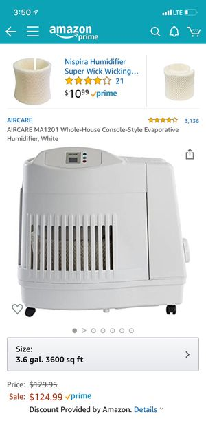 Humidifier AirCare in good condition for Sale in Brooklyn, NY