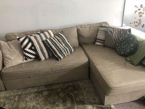 Sofa couch queen bed storage for Sale in Baltimore, MD