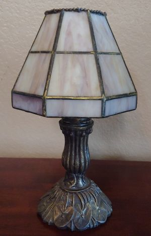 Vintage Tiffany-Style Lampshade Candle Holder for Sale in Kyle, TX