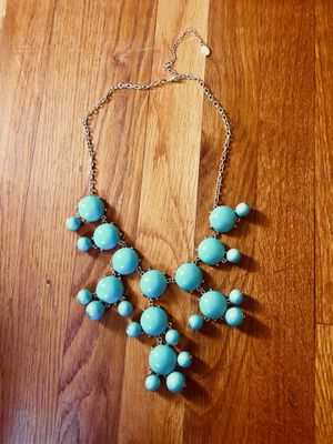 Turquoise colored necklace for Sale in Marion, OH