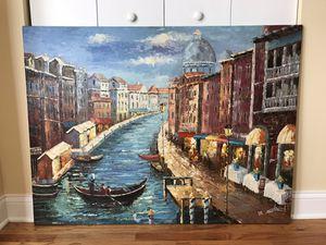 Venezia Painted Art Canvas 🎨 for Sale in Chicago, IL