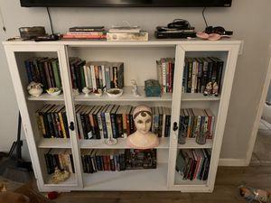 White bookcase for Sale in Mesa, AZ