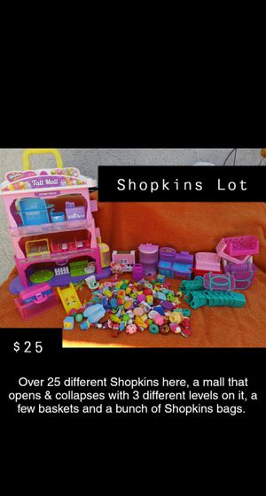 Shopkin toys for Sale in Vacaville, CA