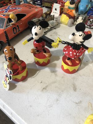 Disney retro dancing figures Mickey Minnie Mouse Pluto for Sale in Sacramento, CA