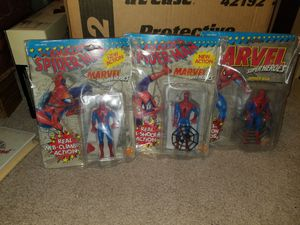 Set of three Spider-Man action figures collectible for Sale in Fall River, MA