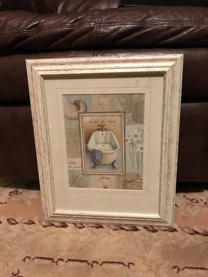Decoration for bathroom- drawing for Sale in Fairfax, VA