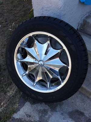 TIRES 285/50R/20 AND CALLI RIMS for Sale in Los Angeles, CA