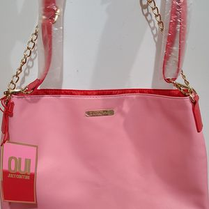 Juicy Couture Pink Tote Bag Brand New Valentines Day Gift for Sale in Billerica, MA
