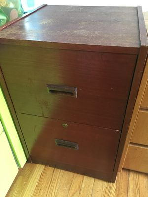 Wooden Filing Cabinet - East Village for Sale in New York, NY