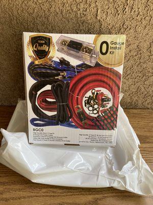 Zero gauge install kit for Sale in Modesto, CA