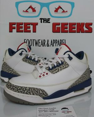 Nike Air Jordan 3 Retro True Blue Men's Shoes Size 8 for Sale in Cleveland, OH
