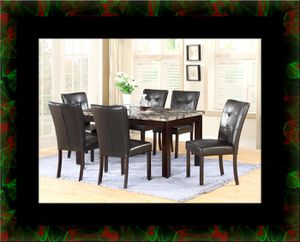 5pc dining table set with 4 chairs for Sale in Alexandria, VA