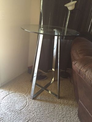 Tall glass table for Sale in Scottsdale, AZ