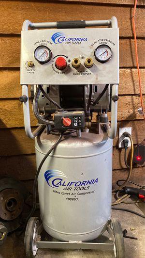 Air compressor California air tools quiet compressor for Sale in Milton, GA