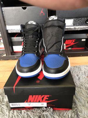 Jordan 1 royal toe sz 9 for Sale in Los Angeles, CA