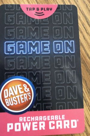 Dave & Busters Power Card $50 worth of play for Sale in Glendora, CA