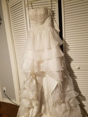 Sweetheart neckline corset white dress for Sale in Tampa, FL