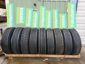FIRESTONE FT455 295 75 22.5 trailer tires for Sale in Auburn, WA