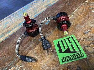 H7 LED Headlight Fog Light Bulbs EXTRA BRIGHT 360 for Sale in Glendale, AZ