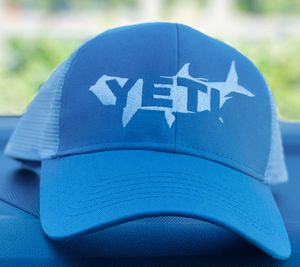 Brand New YETI Coolers Tarpon Trucker Snapback Hat Cap One Size Teal White w Tag for Sale in Laguna Beach, CA