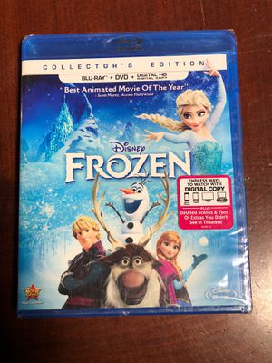 Disney frozen blu-ray dvd movie for Sale in San Diego, CA