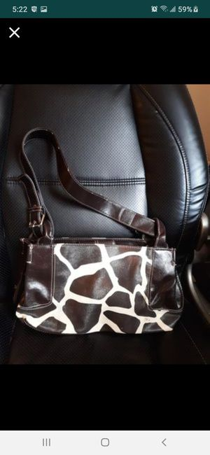 Nine&co leather animal print purse new for Sale in Southbridge, MA