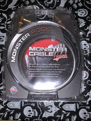 Monster Rock 21 Ft. Guitar Cable Prolink for Sale in Torrance, CA
