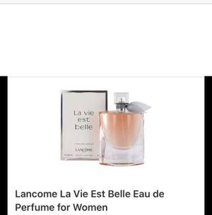 Lancome la vie est belle perfume for ladies for Sale in Hoffman Estates, IL