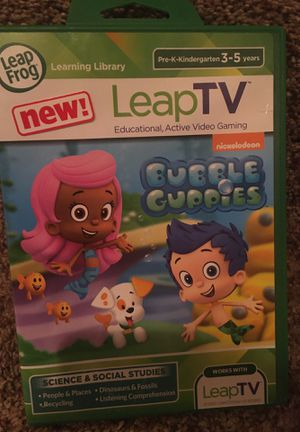 LeapTV Bubble Guppies game for Sale in Baltimore, MD