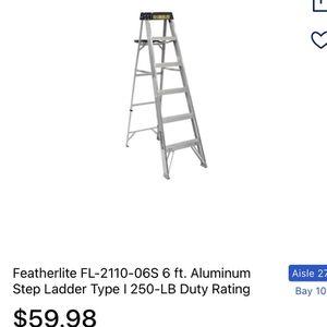 6ft Ladders for Sale in Auburn, WA