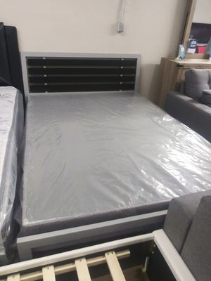 Full bed frame with mattress $299 for Sale in North Las Vegas, NV