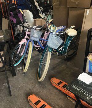 3 26 inch beach cruiser bikes for Sale in Ivyland, PA