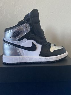 Air Jordan 1 High Silver Toe (Size 11.5 C) for Sale in Fremont,  CA