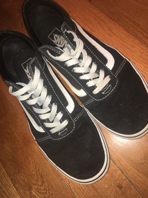 Black Vans for Sale in Frederick, MD