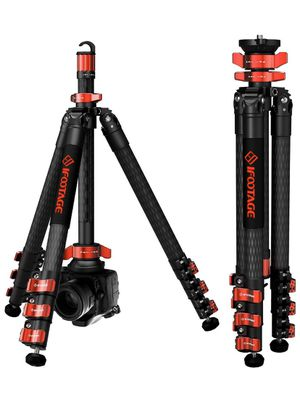 """IFOOTAGE Carbon Fiber Travel Tripod, 59"""" Professional Video Camera Tripods 4 Sections with Centre Pole,Compatible with Canon, Nikon, Sony DSLR Camcor for Sale in Norwalk, CA"""