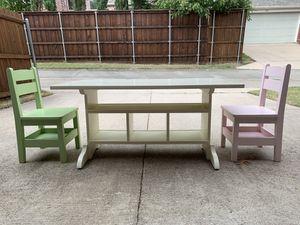 Kids table set for Sale in Allen, TX
