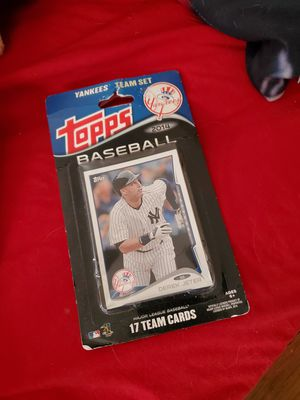 TOPPS BASEBALL CARDS for Sale in WINCHESTR CTR, CT